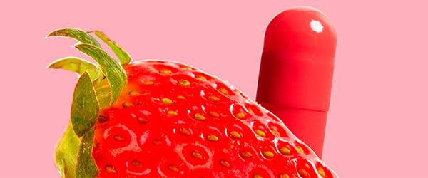 Flavored gelatin capsules