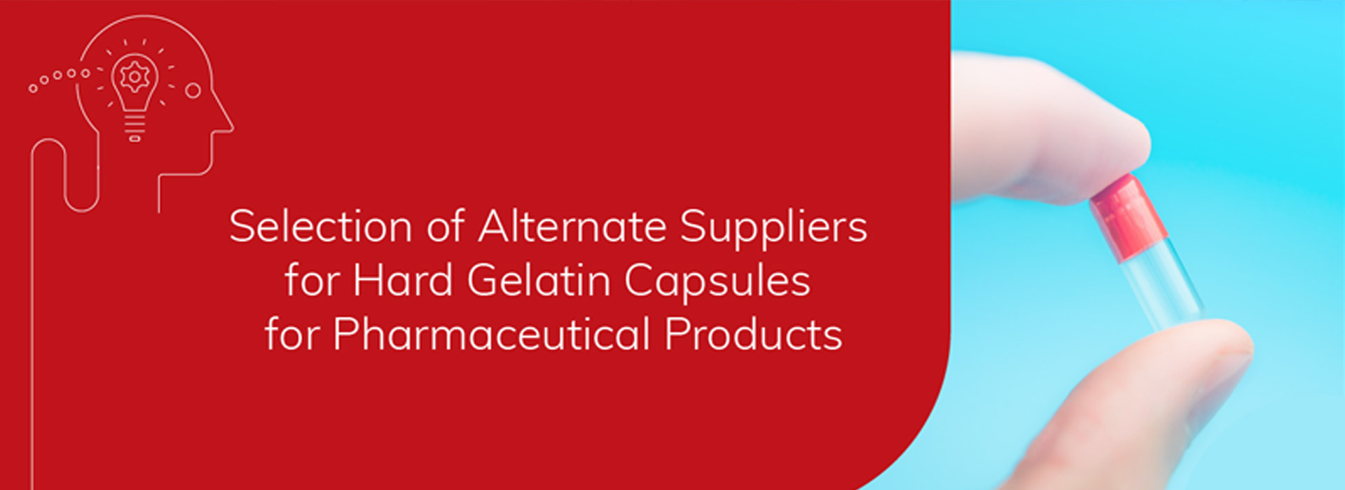 Assisting the pharma industry as a vendor for hard empty gelatin capsules