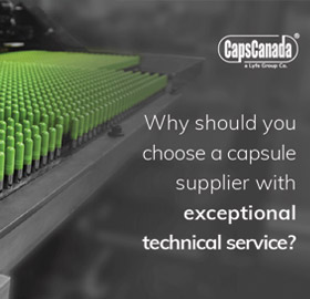 Why should a capsule manufacturer choose a supplier with exceptional technical service?