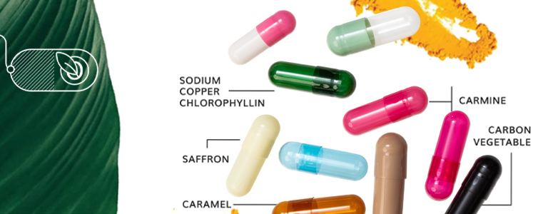 The evolution of the HPMC capsules: Natural colorants