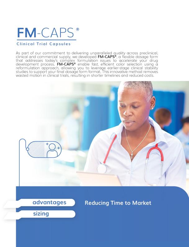 FM-CAPS® Clinical Trial Capsules