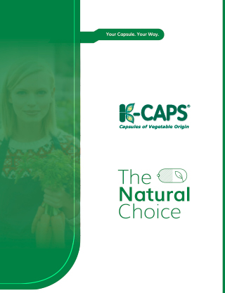 K-Caps product information