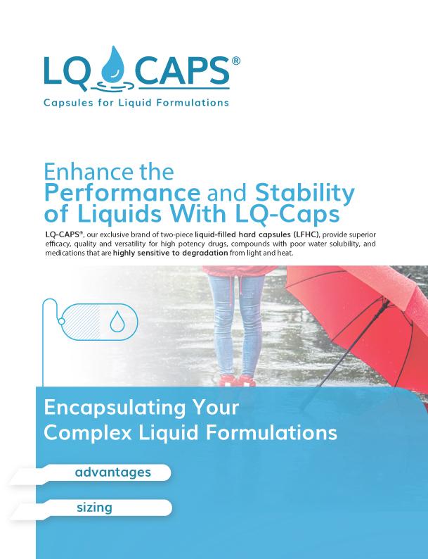 LQ-CAPS® Liquid Formulation Capsules
