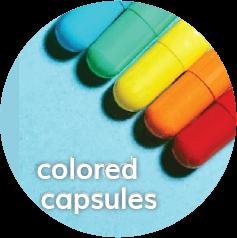 Colored Capsules