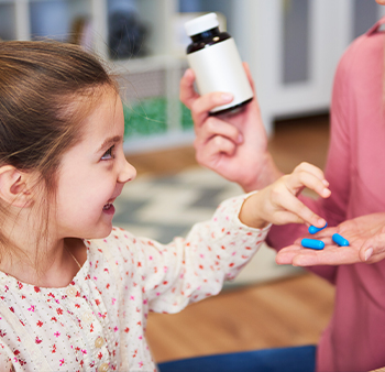 CapsCanada®'s flavor capsules address the taste and smell aspects of palatability in a unique way that appeals to children.